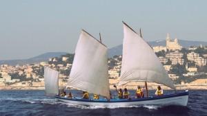 sortie voile tradiionnelle à bord de Massalia - association vogue massalia