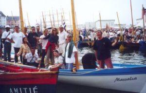 L'equipage du Défi Jeunes Marins 2000